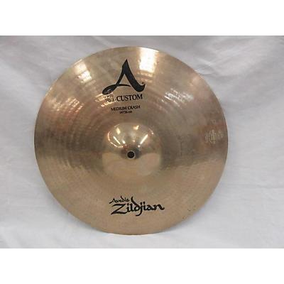 Zildjian 14in A Custom Medium Crash Cymbal
