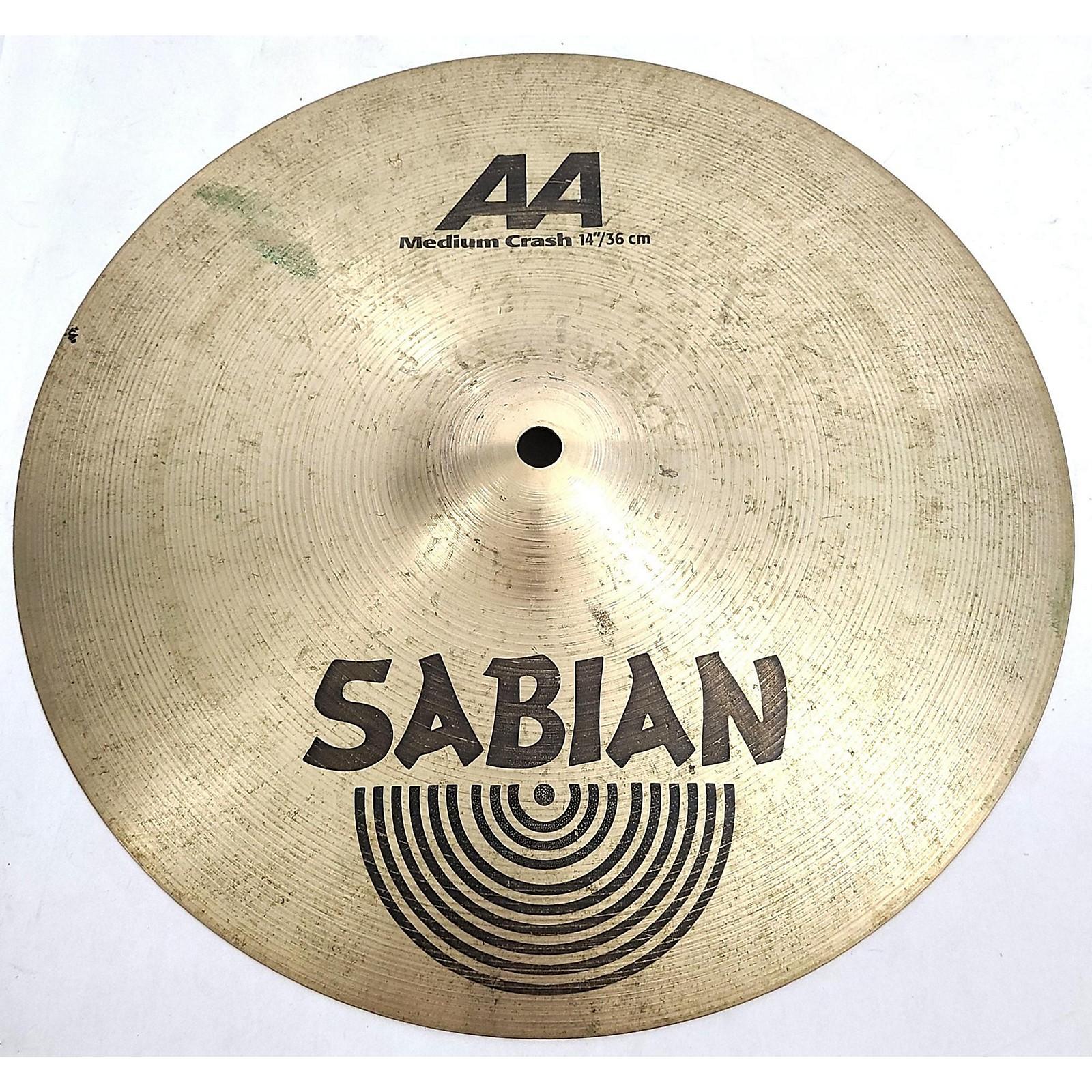 Sabian 14in AA Medium Crash Cymbal