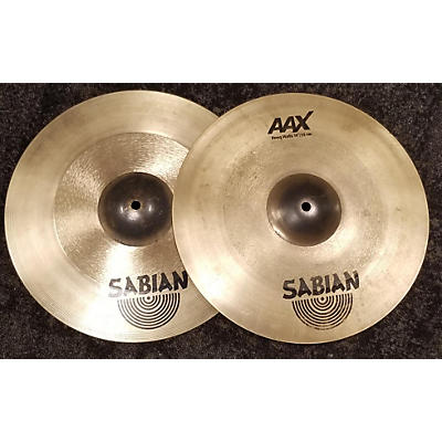 Sabian 14in Aax Freq Hi Hat Pair Cymbal