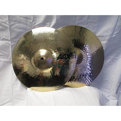 Sabian 14in Aax Medium Hi Hat Pair Cymbal
