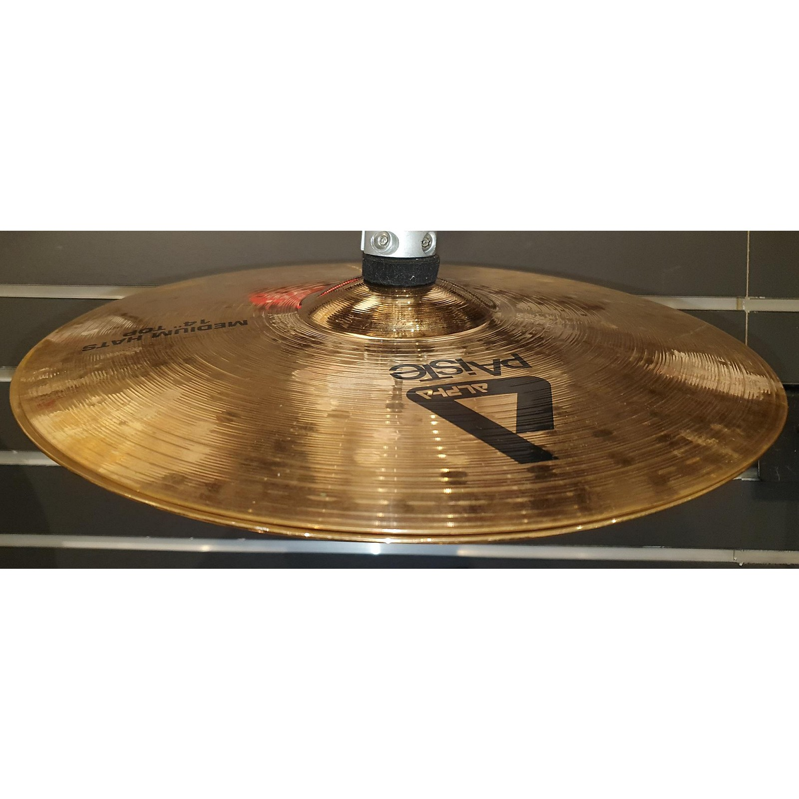 Paiste 14in Alpha Medium Hi Hat Pair Cymbal