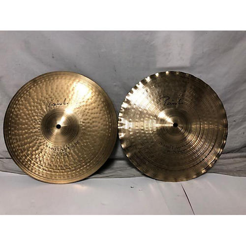 Paiste 14in Alpha Sound Edge Hi Hat Pair Cymbal 33