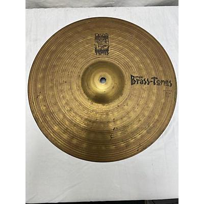 Paiste 14in Brass Tones Hi Hat Pair Cymbal
