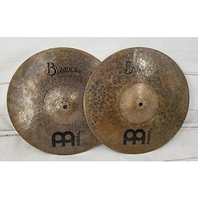 MEINL 14in Byzance Dark Hi Hat Pair Cymbal