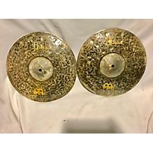 Meinl 14in Byzance EX Dry Medium Hi Hat Pair Cymbal