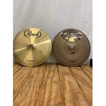 Pearl 14in CX300 High Hat Pair Cymbal