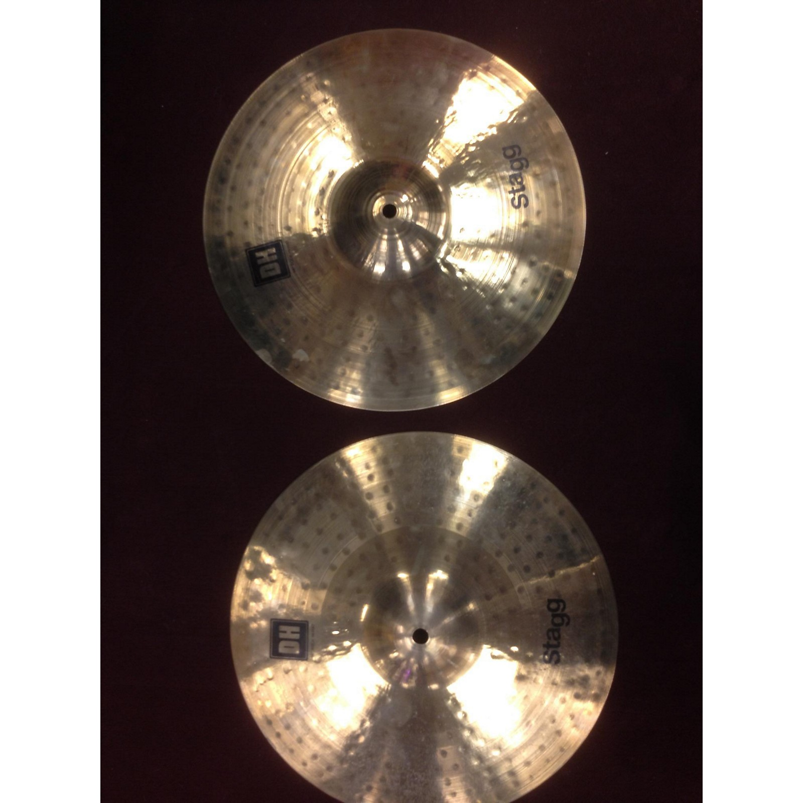 Stagg 14in DH ROCK HI-HAT PAIR Cymbal