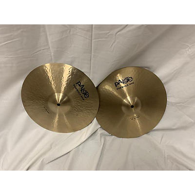 Paiste 14in Formula 602 Modern Essentials Hihat Pair Cymbal