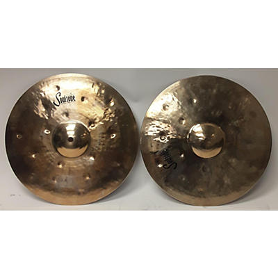Soultone 14in Heavy Hammered Hihat Pair Cymbal