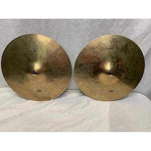 Wuhan Cymbals & Gongs 14in Hi Hat Cymbal 33