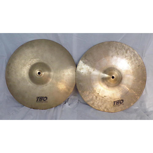 TKO 14in Hi Hat Cymbals Cymbal 33
