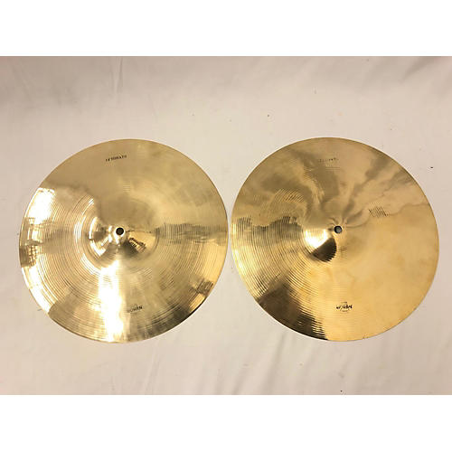 Wuhan Cymbals & Gongs 14in Hi Hat Pair Cymbal 33