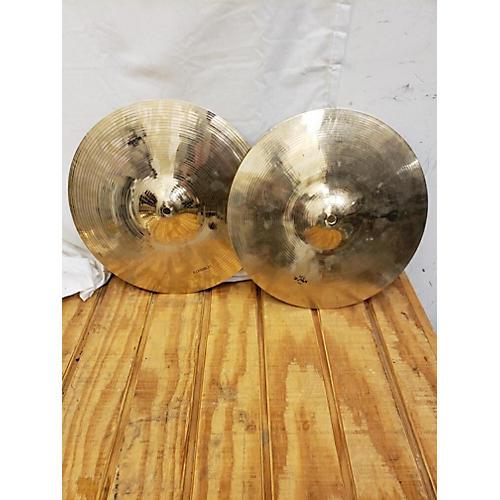 Wuhan Cymbals & Gongs 14in Hi Hat Pair Cymbal 33