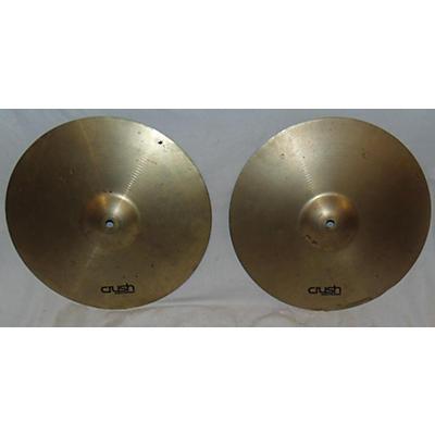 CRUSH 14in Hi Hat Pair Cymbal