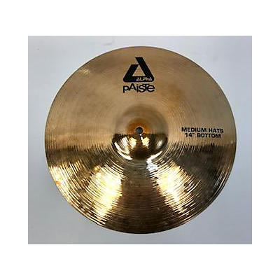 Paiste 14in New Alpha Medium Hi Hat Bottom Cymbal