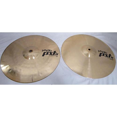 14in PST8 Medium Hi Hat Pair Cymbal