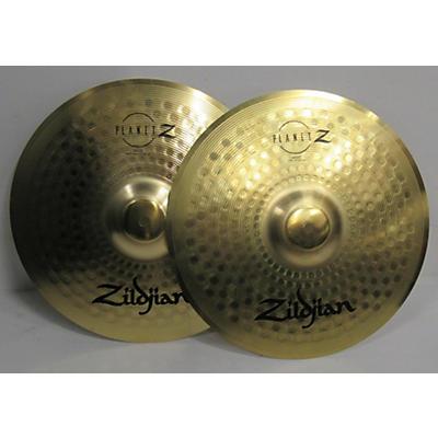 Zildjian 14in Planet Z Hi Hat Pair Cymbal