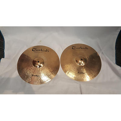 Turkish 14in Rock Beat Medium Pair Cymbal