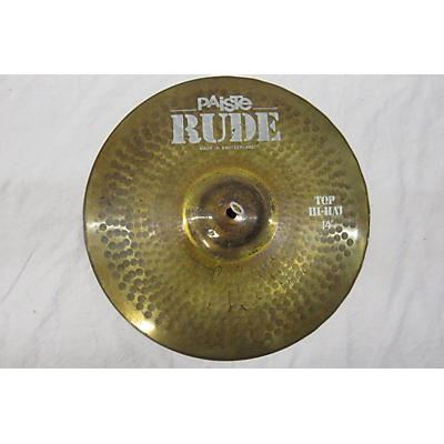Paiste 14in Rude Sound Edge Cymbal