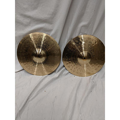 Paiste 14in Signature Dark Crisp Hi Hat Pair Cymbal