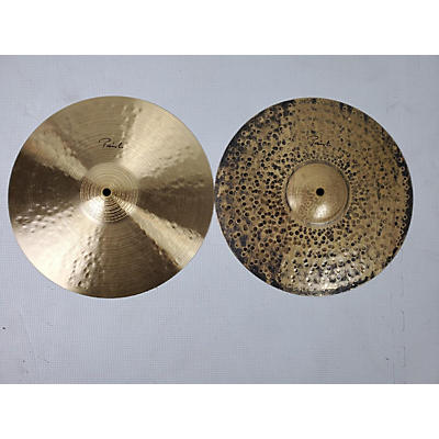 Paiste 14in Signature Traditional Medium Light Hi Hats Cymbal