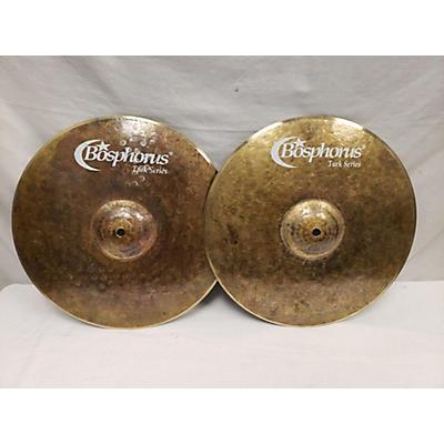 Bosphorus Cymbals 14in Turk Series Dark Hats Cymbal