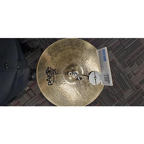Paiste 14in Twenty CUSTOM FULL HATS Cymbal 33