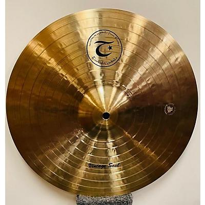 Turkish 14in Vintage Soul 14 Inch Hi Hat Pair Cymbal