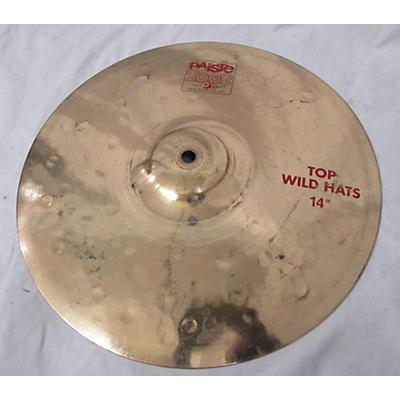 Paiste 14in Wild Hi Hat Top Cymbal