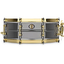 "Ludwig 14x5"" 110th Anniversary Black Beauty 8-lug Snare Drum"