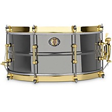 "Ludwig 14x6.5"" 110th Anniversary Black Beauty 8-lug Snare Drum"