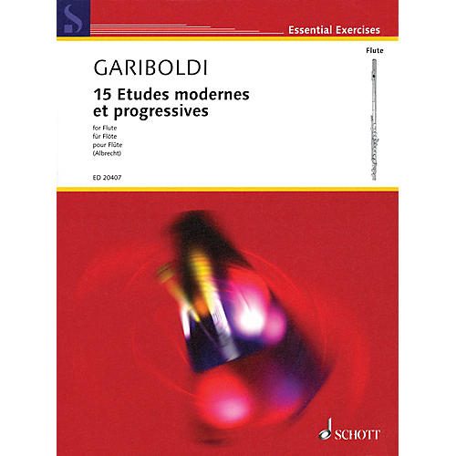 Schott 15 Etudes modernes et progressives Woodwind Series Softcover