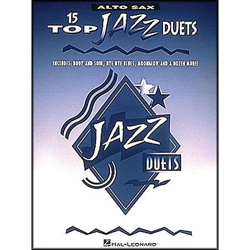Hal Leonard 15 Top Jazz Duets for Alto Sax