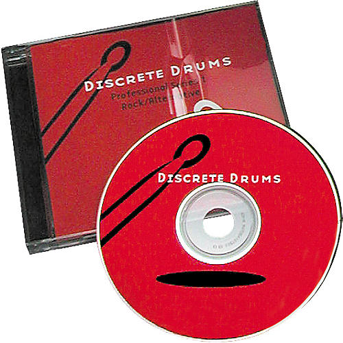 Discrete Drums 15 Track Audio CD