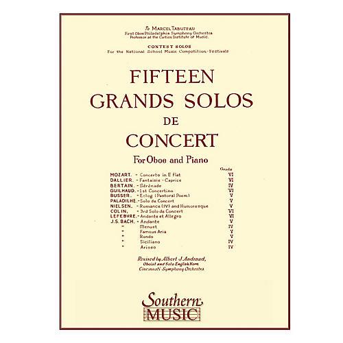 Hal Leonard 15 (fifteen) Grands Solos De Concert +usa-only+ Southern Music Series Arranged by Andraud, Albert