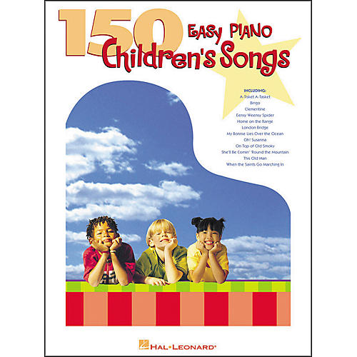 Hal Leonard 150 Easy Piano Children's Songs