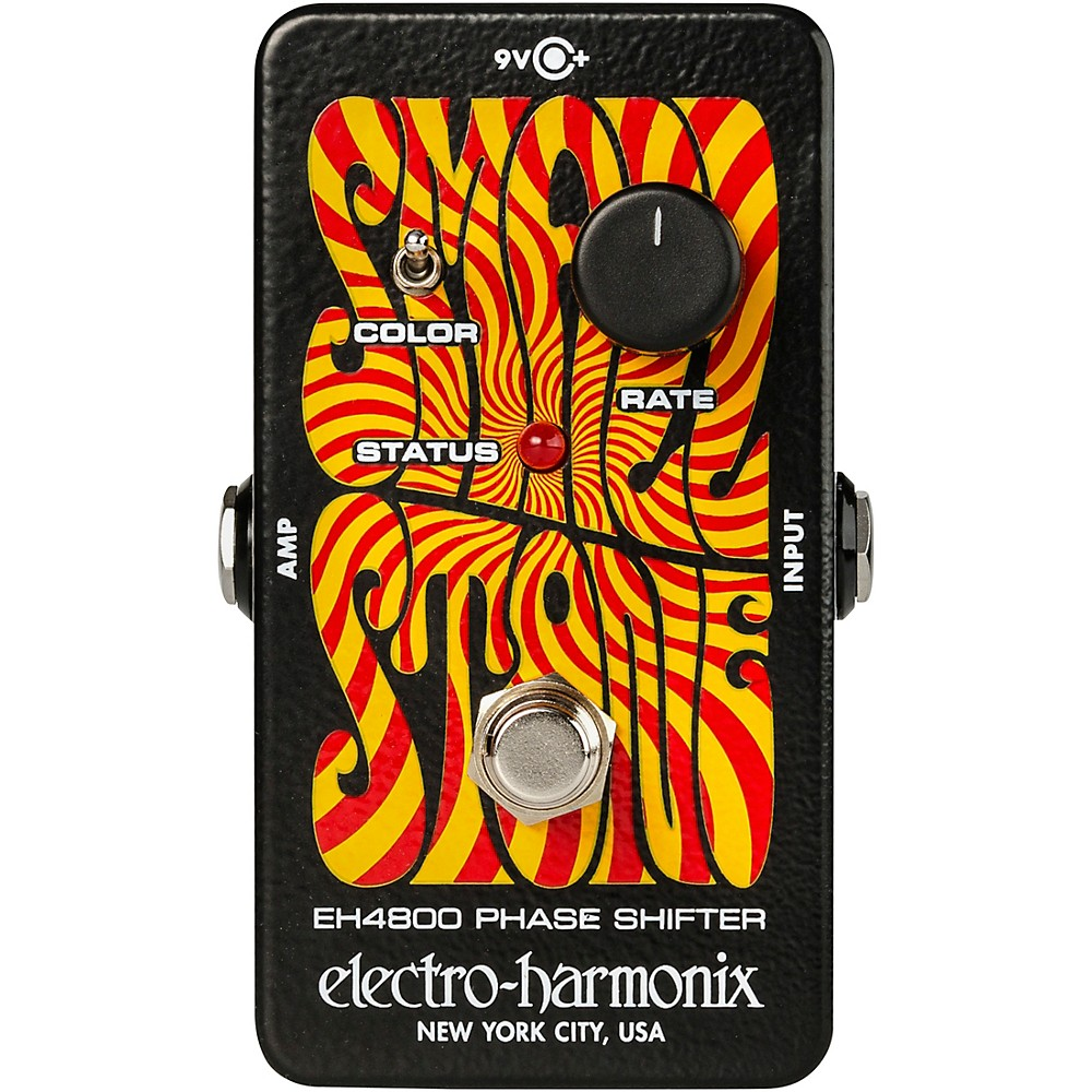 electro harmonix nano small stone phase shifter guitar effects pedal ebay. Black Bedroom Furniture Sets. Home Design Ideas