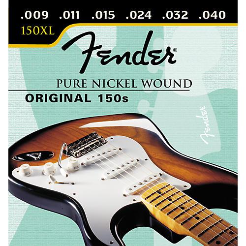 Fender 150XL Original Pure Nickel Extra Light Ball End Electric Guitar Strings