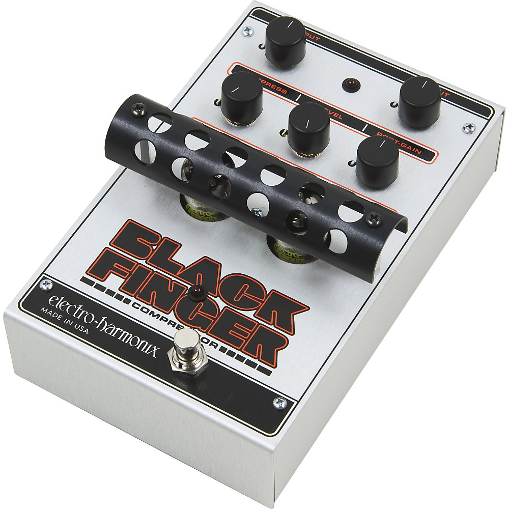 Electro-Harmonix Classics Black Finger Compressor Guitar Effects Pedal