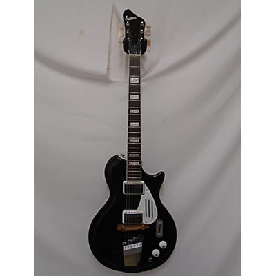 Supro 1575JB BLACK HOLIDAY Solid Body Electric Guitar