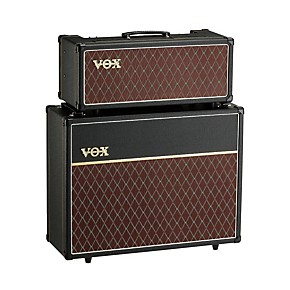 vox 15w custom tube guitar amp head with 2x12 cabinet musician 39 s friend. Black Bedroom Furniture Sets. Home Design Ideas