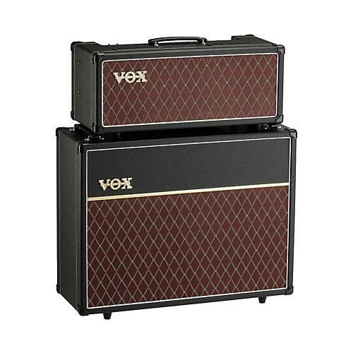 vox 15w custom tube guitar amp head with 2x12 cabinet musician 39 s friend. Black Bedroom Furniture Sets. Home Design Ideas