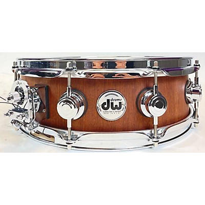 DW 15X5 Collector's Series Satin Specialty Maple Mahogany Snare Drum