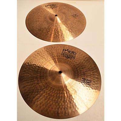 Paiste 15in 2002 BIG BEAT HI HAT PAIR Cymbal