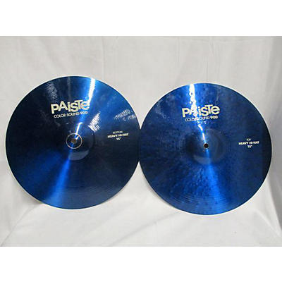 Paiste 15in 900 Series Colorsound Heavy Hi-Hat Pair Cymbal