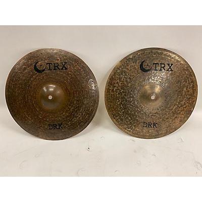 TRX 15in DRK Hi-Hat Set Cymbal