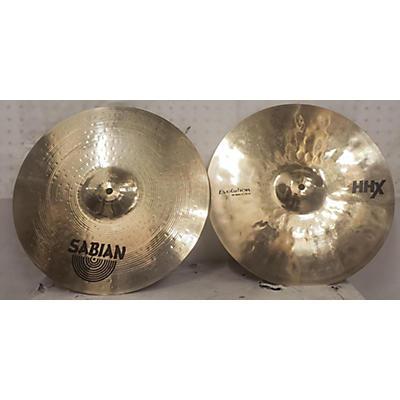 Sabian 15in Hhx EVOLUTION HI HAT PAIR Cymbal