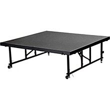 """National Public Seating 16""""-24"""" Height Adjustable 4' x 4' TransFix Stage Platform"""