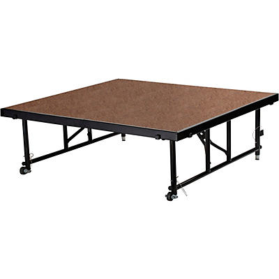 "National Public Seating 16""-24"" Height Adjustable 4' x 4' TransFix Stage Platform"
