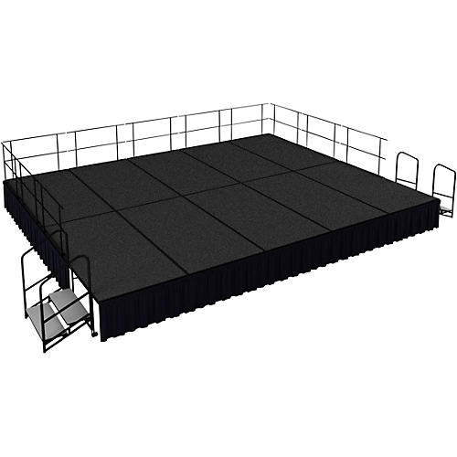 National Public Seating 16' x 20' Stage Package, 24